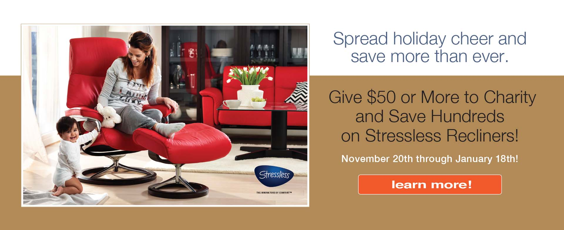 Stressless Charity Promo