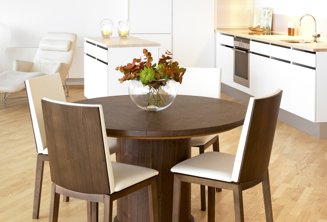 Have You Considered A Modern Round Dining Table