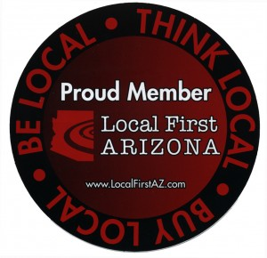 Proud Member of Local First Arizona Logo
